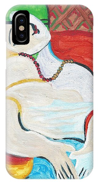 IPhone Case featuring the painting Cubism by Janelle Dey