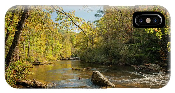Cullasaja River Nc IPhone Case