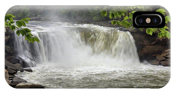 Cumberland Falls Close-up IPhone Case