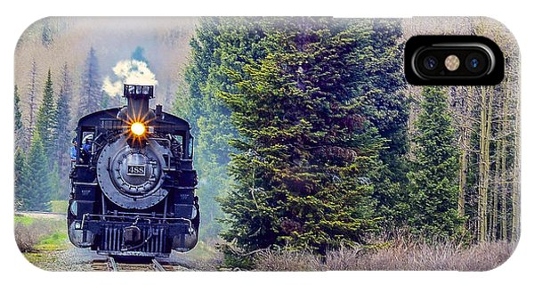 Cumbres Toltec  Train Phone Case by Larry Bodinson