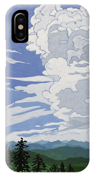 Cumulonimbus Afternoon IPhone Case