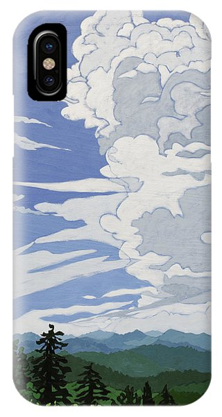 Cumulonimbus Afternoon IPhone Case
