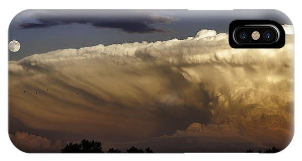Cumulonimbus At Sunset IPhone Case