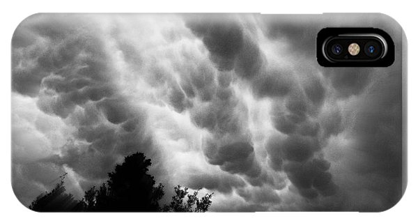 Cumulonimbus Clouds Over Cagliari IPhone Case