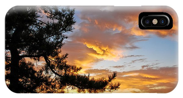 Cumulus Clouds Plum Island IPhone Case