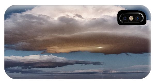 IPhone Case featuring the photograph Cumulus Las Vegas by Michael Rogers