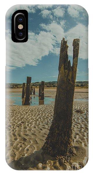 Cunnigar Groynes 3 IPhone Case