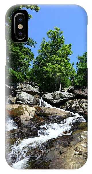 Catoctin Mountain Park iPhone Case - Cunningham Falls Big Hunting Creek Maryland by James Brunker