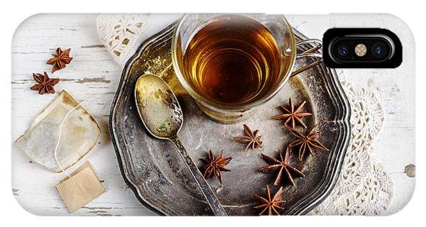 Menu iPhone Case - Cup Of Tea by Jelena Jovanovic