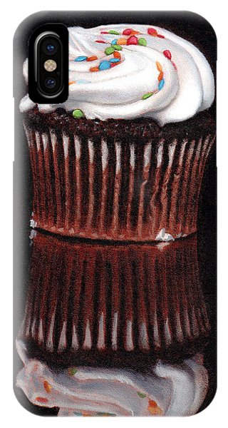 Cupcake Reflections IPhone Case
