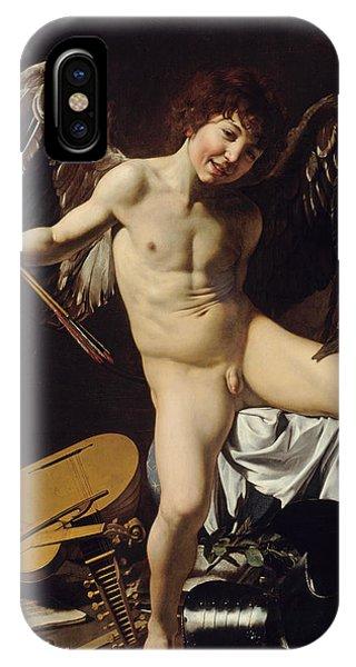 Cupid iPhone Case - Cupid As Victor  by Caravaggio