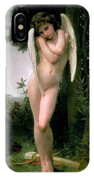Cupid iPhone Case - Cupidon by William Adolphe Bouguereau