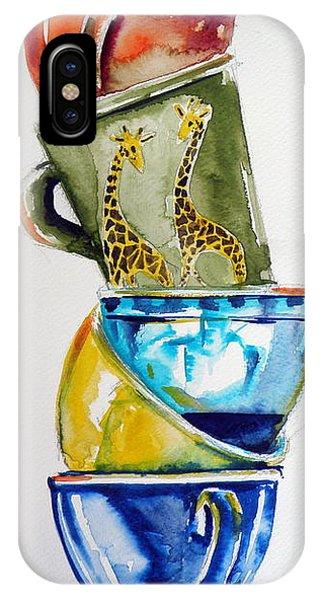 Wild Life iPhone Case - Cups by Kovacs Anna Brigitta