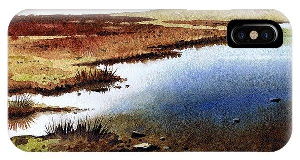 iPhone Case - Cupwith Reservoir by Paul Dene Marlor