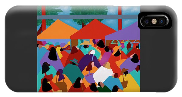 iPhone Case - Curacao Market by Synthia SAINT JAMES