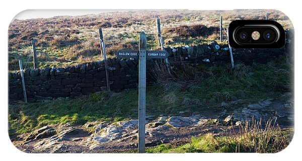 Curbar Edge Which Way To Go IPhone Case