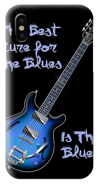 Cure For The Blues Shirt IPhone Case