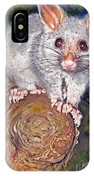 Curious Possum  IPhone Case