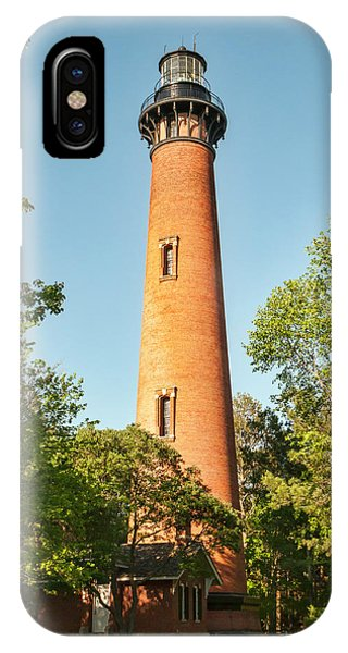 Currituck Beach Lighthouse IPhone Case