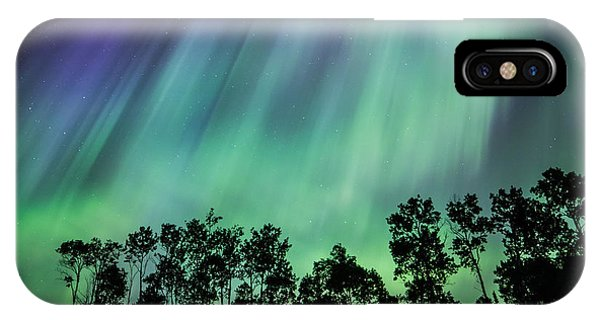 Curtain Of Lights IPhone Case
