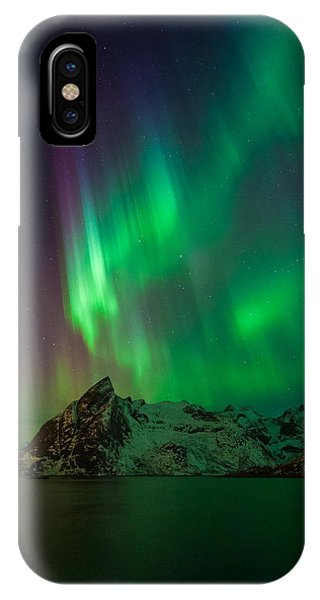 Curtains Of Light IPhone Case
