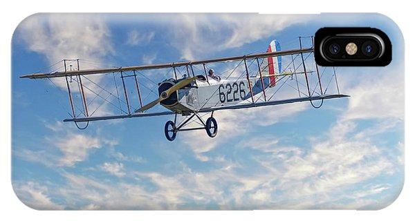 Curtiss Jn-4h Biplane IPhone Case