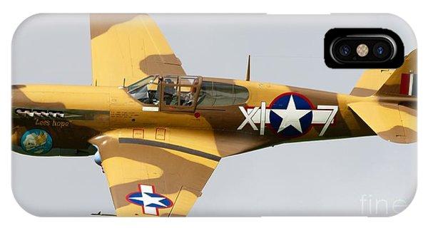 Asse iPhone Case - Curtiss P 40 Warhawk by Robert Phelan