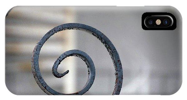 Curve Of Iron IPhone Case