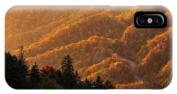 Smoky Mountain Roads IPhone Case