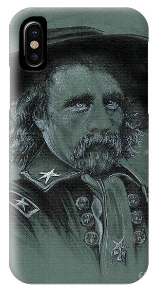 Custer's Resolve IPhone Case