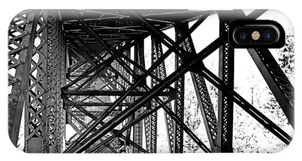 Cut River Bridge IPhone Case
