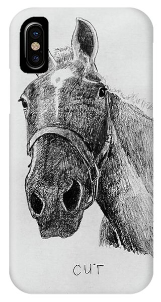 Cut The Horse IPhone Case