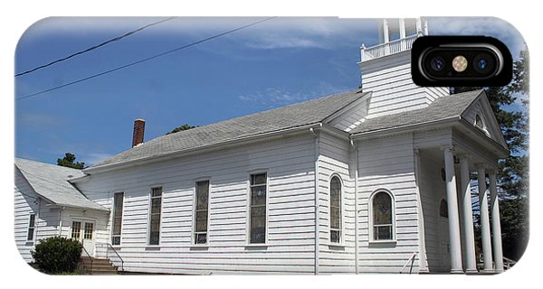 Cutchogue United Methodist Church IPhone Case