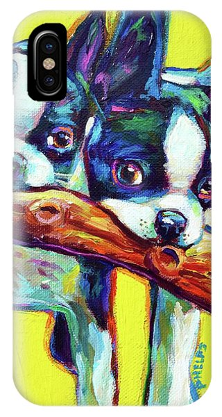 Cute Boston Terriers IPhone Case