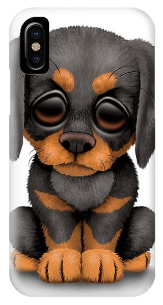 Cute Doberman Puppy Dog IPhone Case