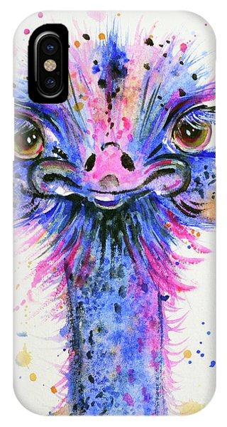Cute Ostrich IPhone Case