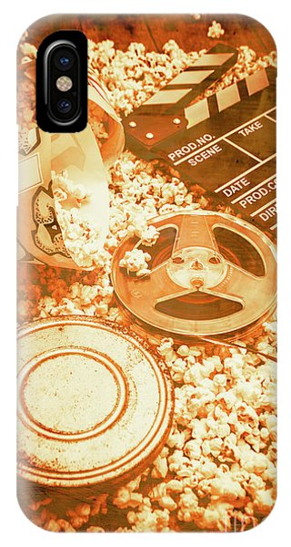 Retro iPhone Case - Cutting A Scene Of Vintage Film by Jorgo Photography - Wall Art Gallery