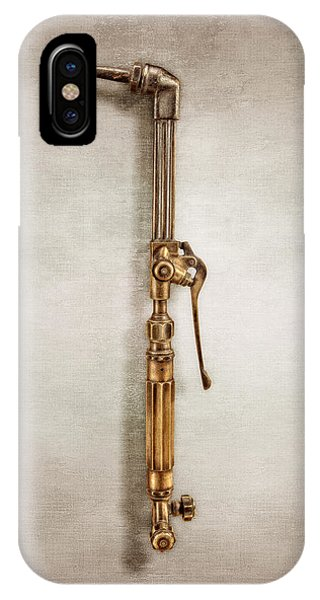 Craftsman iPhone Case - Cutting Torch by YoPedro