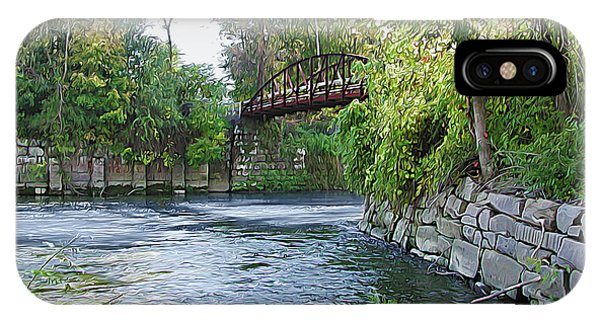 Cuyahoga River At Peninsula IPhone Case