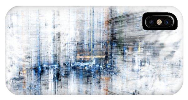 Cyber City Design IPhone Case