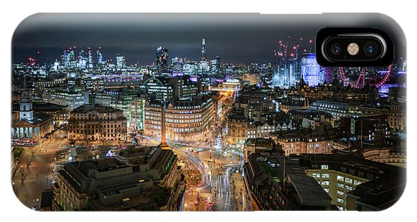 IPhone Case featuring the photograph Cyber City by Stewart Marsden