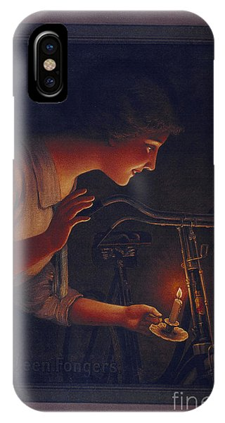 Cycles Fongers Vintage Bicycle Poster IPhone Case