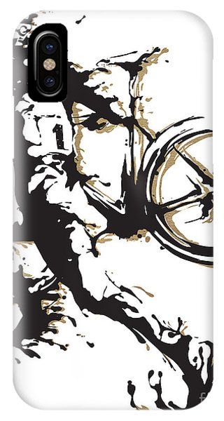 Cycling iPhone Case - Cyclocross Poster1 by Sassan Filsoof