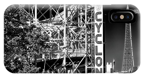 Cyclone At Coney Island IPhone Case