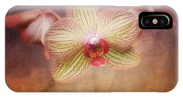 Orchid iPhone X Case - Cymbidium Orchid by Tom Mc Nemar