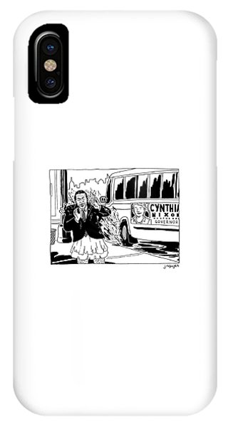 Cynthia Nixon For Governor IPhone Case
