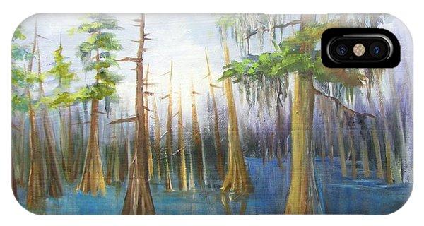 Cypress Bayou 136 IPhone Case