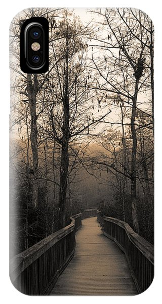 Cypress Boardwalk IPhone Case