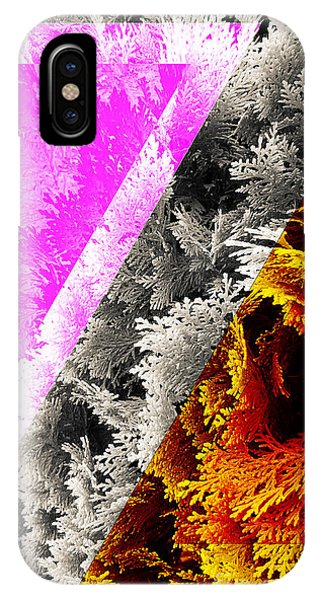 Cypress Branches No.4 IPhone Case