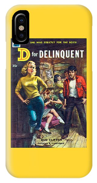 D For Delinquent IPhone Case